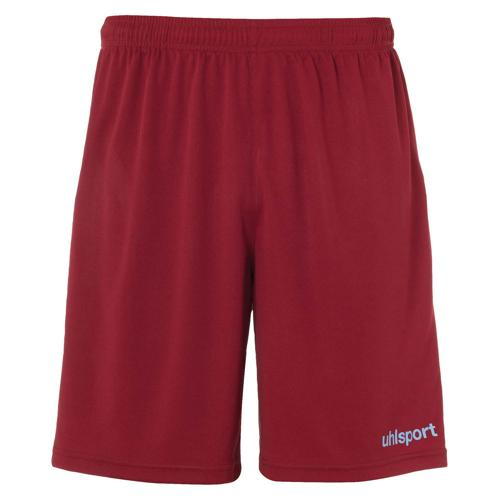 Short Center Bordeaux/Ciel enfant UHLSPORT