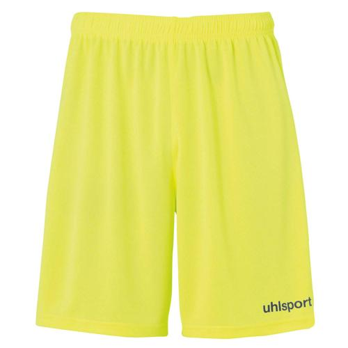 Short Center Jaune fluo/Noir enfant UHLSPORT