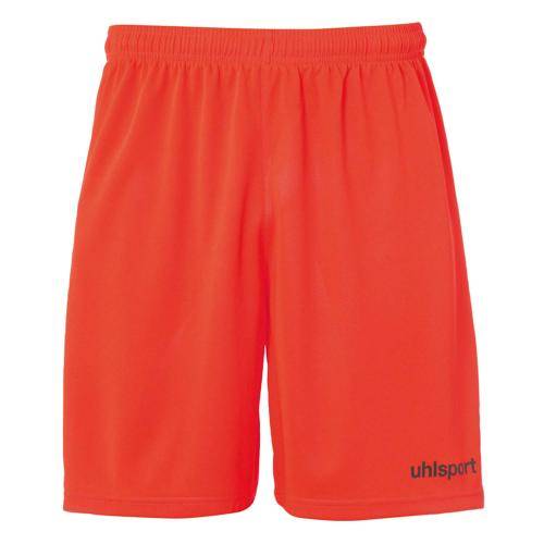Short Center Rouge fluo/Noir enfant UHLSPORT