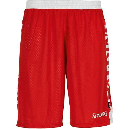Short réversible Rouge/Blanc Spalding
