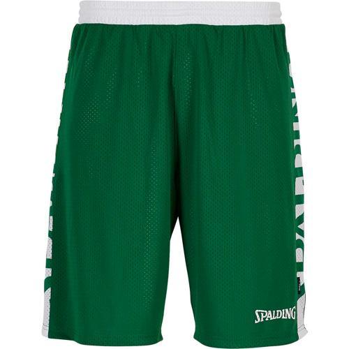 Short réversible Vert/Blanc Spalding