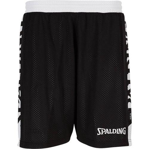 Short réversible féminin Noir/Blanc Spalding