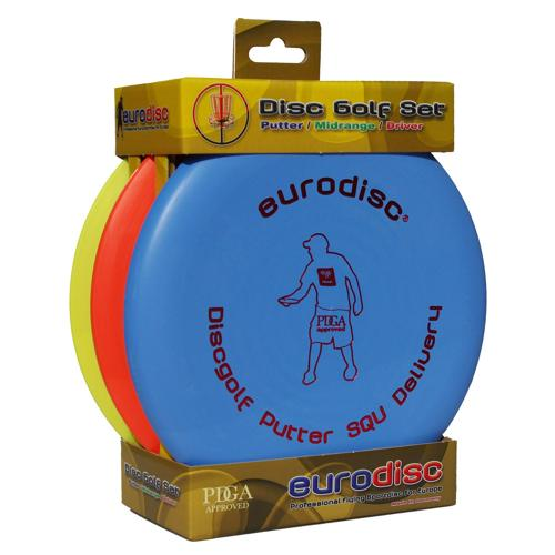Set 3 disques de Disc-Golf