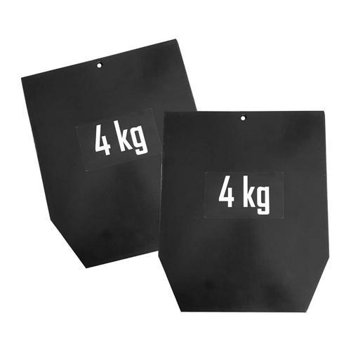 Plaque acier pour gilet pro 4 kg - Sveltus - la paire