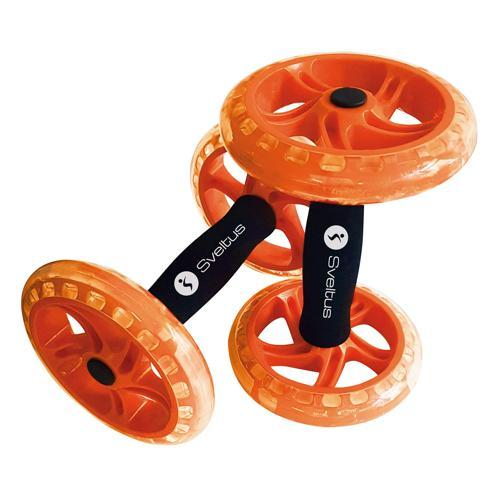 Double AB wheel orange Sveltus - la paire