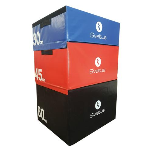 Set de 3 plyobox mousse 30/45/60 cm - Sveltus