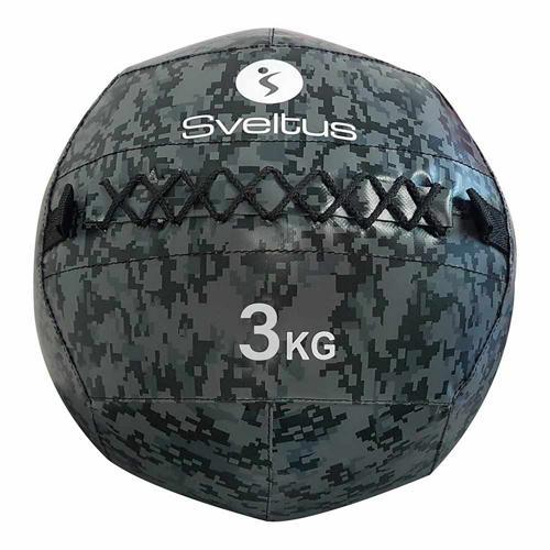 Wall ball - Sveltus - camouflage