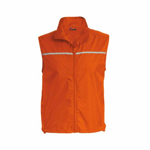 Gilet sans manche runner orange