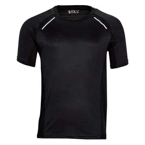 Tee-shirt Running Winner PES Noir EXPERT