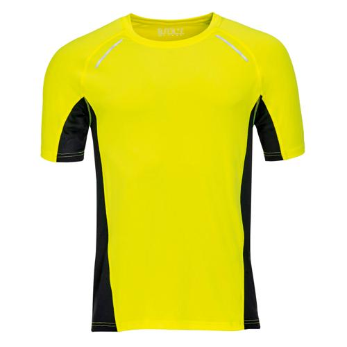 Tee-shirt personnalisable Running Winner PES Jaune EXPERT
