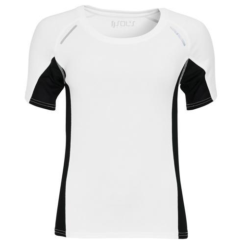 Tee-shirt Feminin Running Winner PES EXPERT blanc