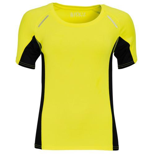 Tee-shirt Feminin Running Winner PES Jaune EXPERT