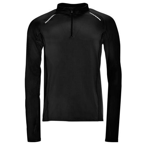 Tee-shirt manches longues Running Winner PES EXPERT noir