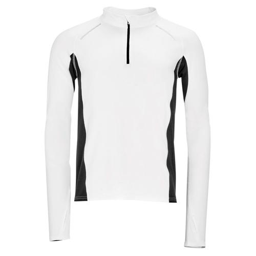 Tee-shirt manches longues Running Winner PES EXPERT blanc