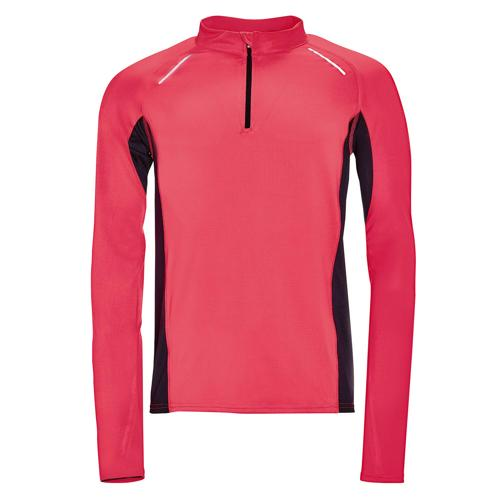 Tee-shirt manches longues Running Winner PES EXPERT fushia