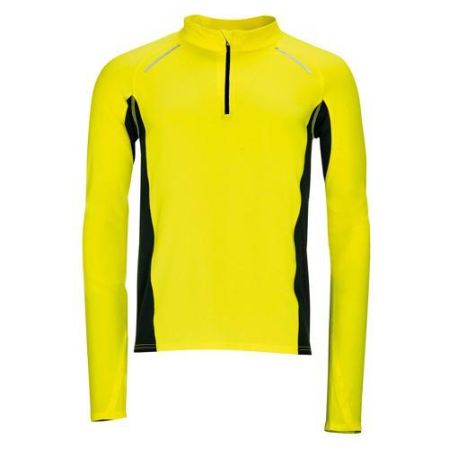 Tee-shirt manches longues Running Winner PES EXPERT jaune
