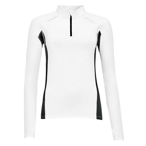 Tee-shirt personnalisable Feminin manches longues Running Winner PES EXPERT blanc