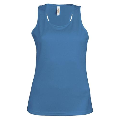Débardeur féminin Casal Sport Bleu