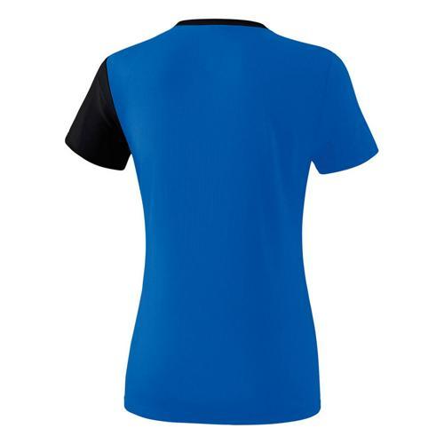 T-Shirt 5-C Royal/Noir Feminin Erima