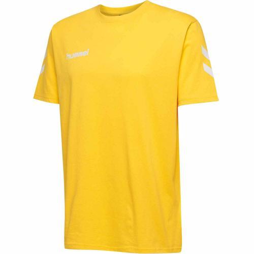 T-shirt HML GO Jaune HUMMEL