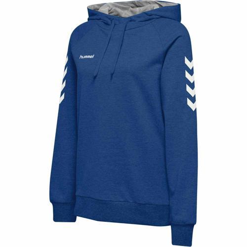 Sweat féminin capuche HML GO Bleu HUMMEL