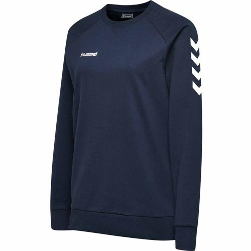 Sweat féminin Top HML GO Marine HUMMEL