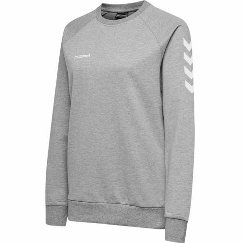 Sweat féminin Top HML GO Gris HUMMEL