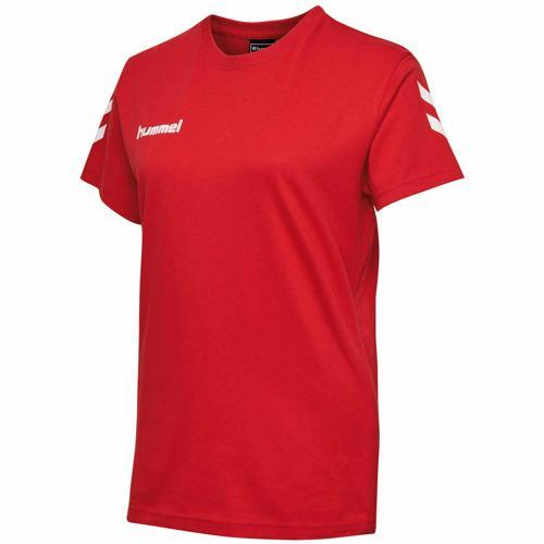 T-shirt féminin HML GO Rouge HUMMEL