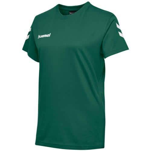 T-shirt féminin HML GO Vert HUMMEL