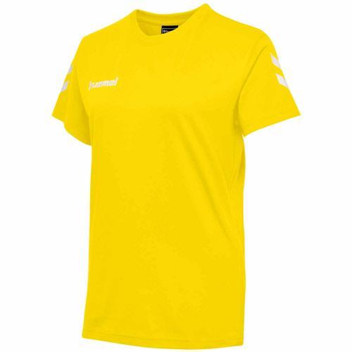 T-shirt féminin HML GO Jaune HUMMEL