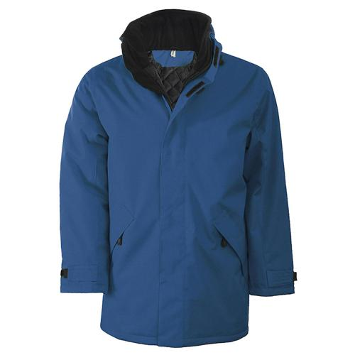 Veste parka team EXPERT bleu royal
