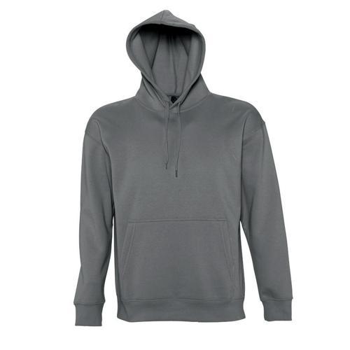 Sweat-shirt à capuche Slam Club anthracite