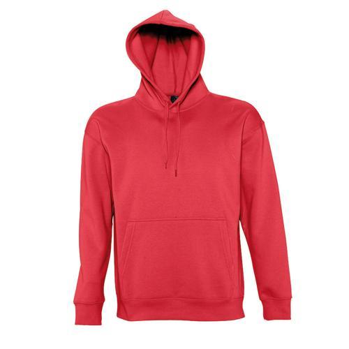Sweat-shirt à capuche Slam Club rouge