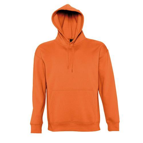 Sweat-shirt à capuche Slam Club orange