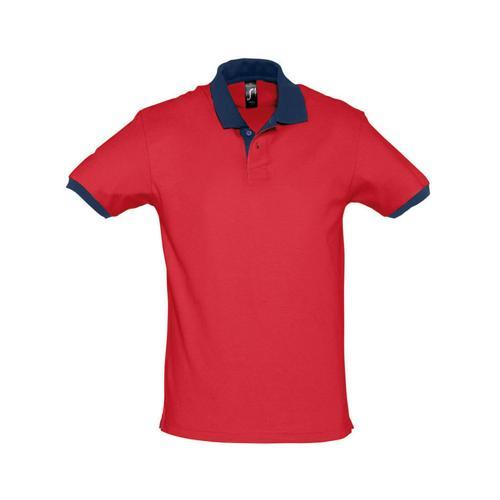 Polo prince expert coton rouge