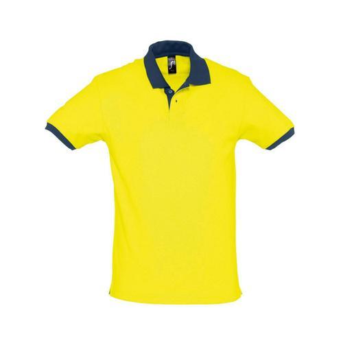 Polo prince expert coton jaune