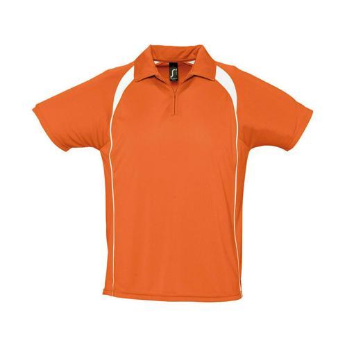 Polo concept Expert 1/2 zip orange