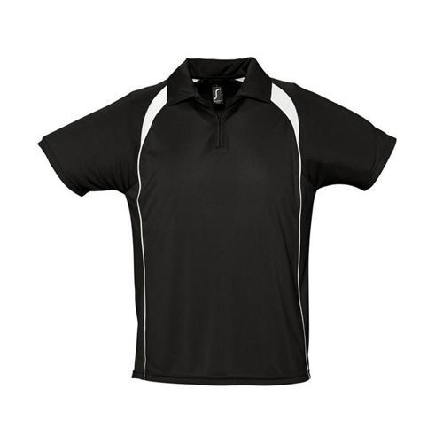 Polo concept Expert 1/2 zip noir