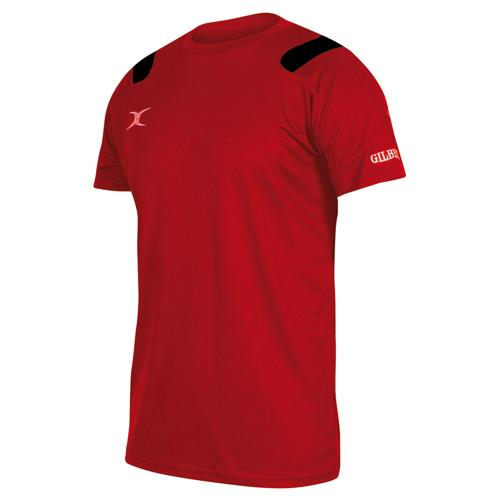 Tee-shirt Gilbert vapour rouge / noir