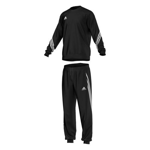 Ensemble Sweat-Pantalon adidas Sereno 14 Enfant Noir/Noir