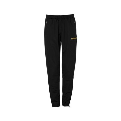 PANTALON SURVETEMENT MATCH PES UHLSPORT NOIR-OR