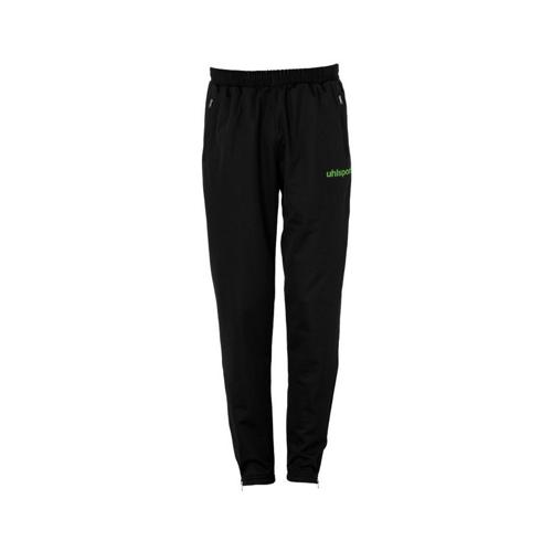 PANTALON SURVETEMENT MATCH PES UHLSPORT NOIR-VERT FLASH