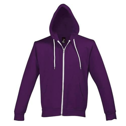 Veste à capuche Dunk Tech violet