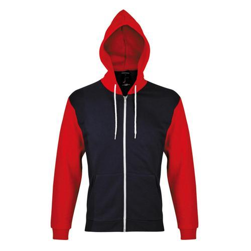 Veste à capuche Dunk Tech marine/rouge