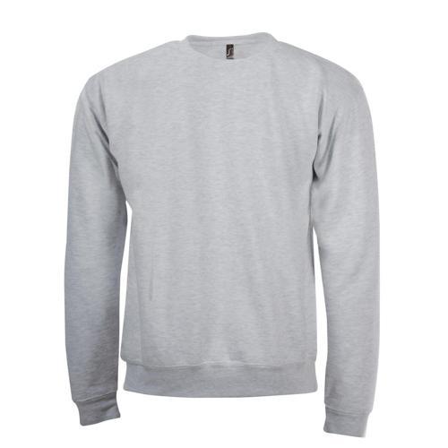 Sweat-shirt Classique molleton expert gris chiné