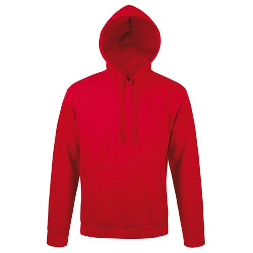 Sweat capuche Expert molleton rouge