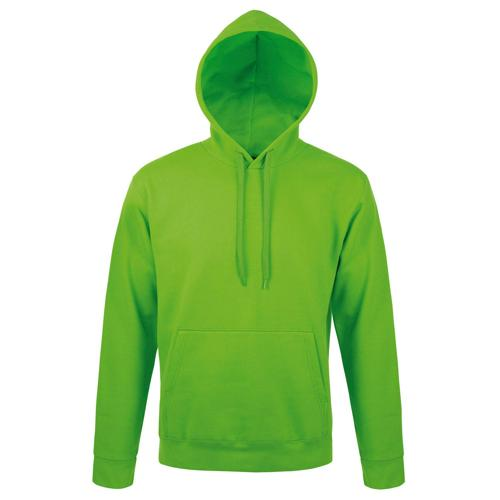 Sweat capuche Expert molleton vert lime