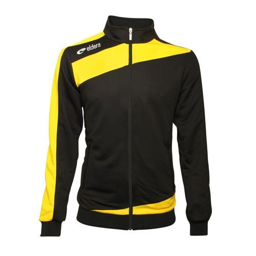 Veste Survêtement Eldera Prestige training noir jaune