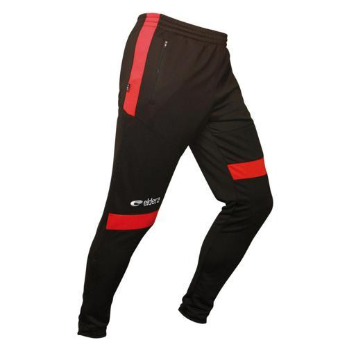 Pantalon de survêtement Eldera Prestige Noir/Rouge