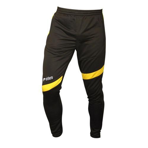 Pantalon de survêtement Eldera Prestige Noir/Jaune